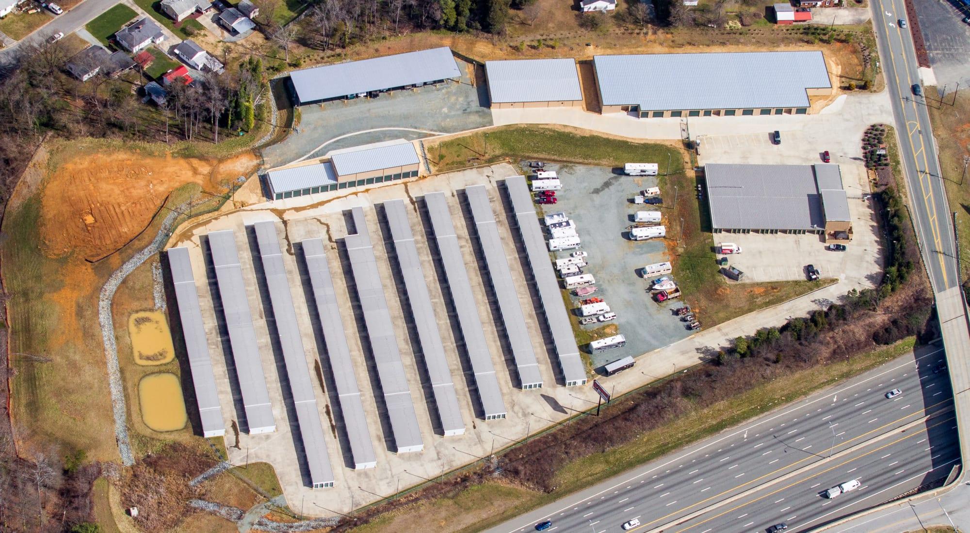 Self storage in Graham North Carolina