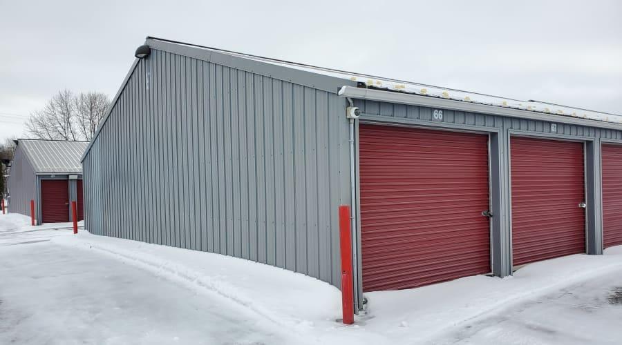 Exterior of outdoor units at KO Storage of Waite Park in Waite Park, Minnesota