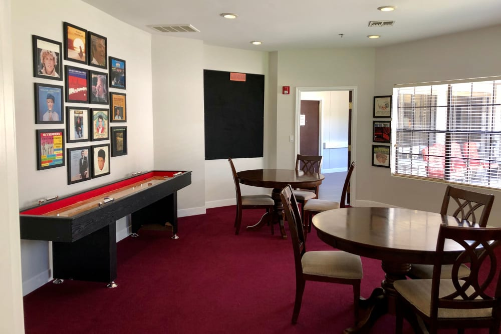 Community room at Parsons House Cypress in Cypress, Texas