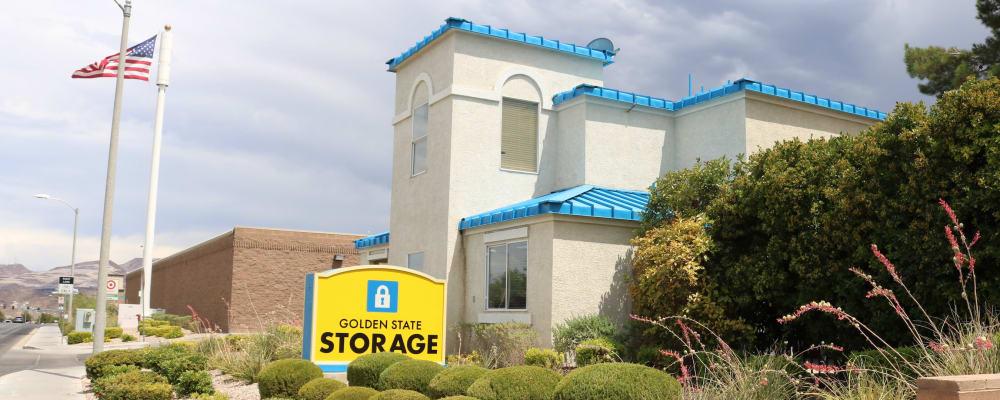 Exterior of Golden State Storage - Horizon Ridge in Henderson, Nevada