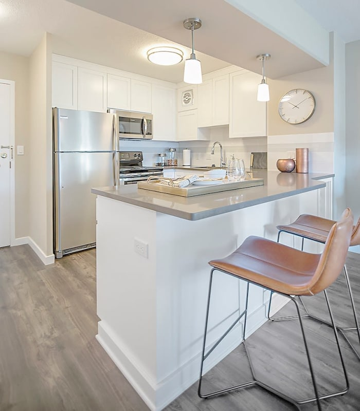 Contact us to schedule a tour of our spacious floor plans at 735 St. Clair in Portland