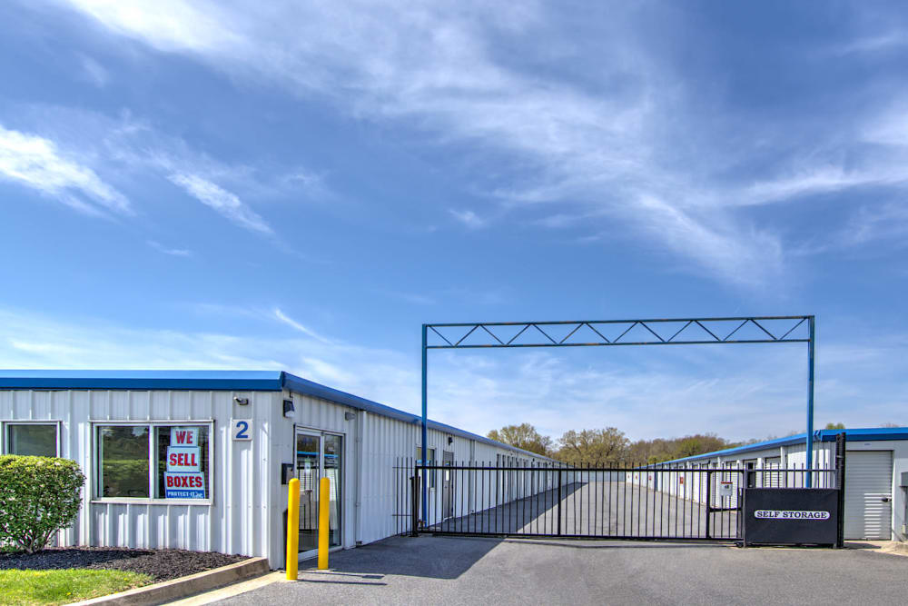 Security Fence at Prime Storage in Baltimore, Maryland