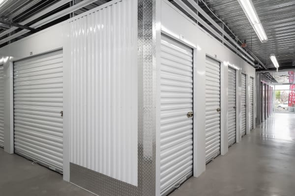 Indoor units at StorQuest Express - Self Service Storage in Sacramento, California