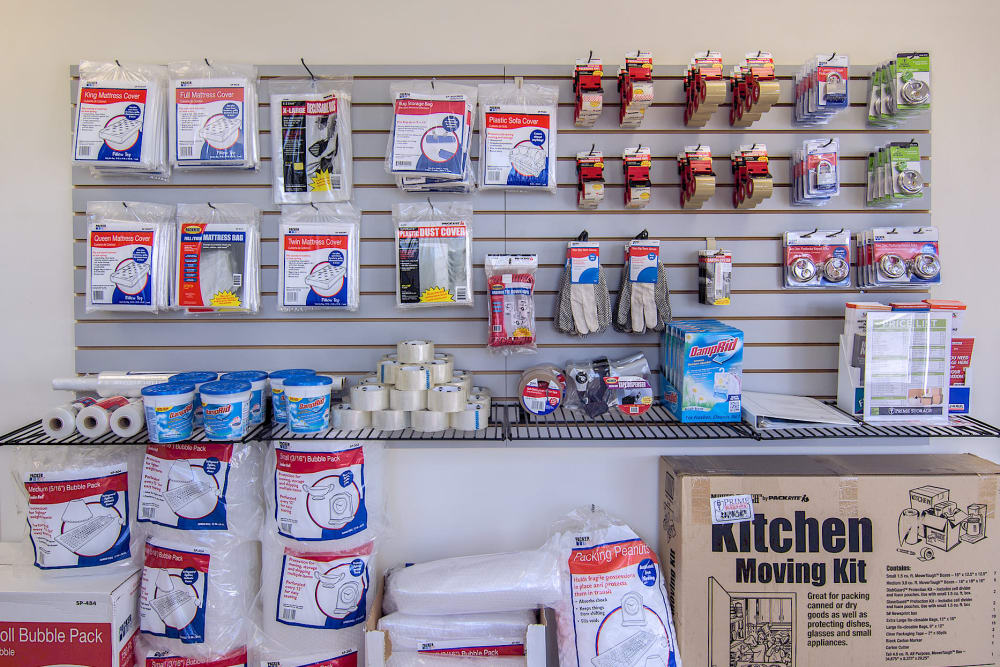 Packing supplies at Rite Storage in Middletown, NY