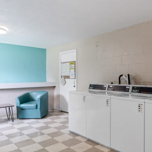 Washers and dryers for residents at Centennial Woods Apartments in Cincinnati, Ohio