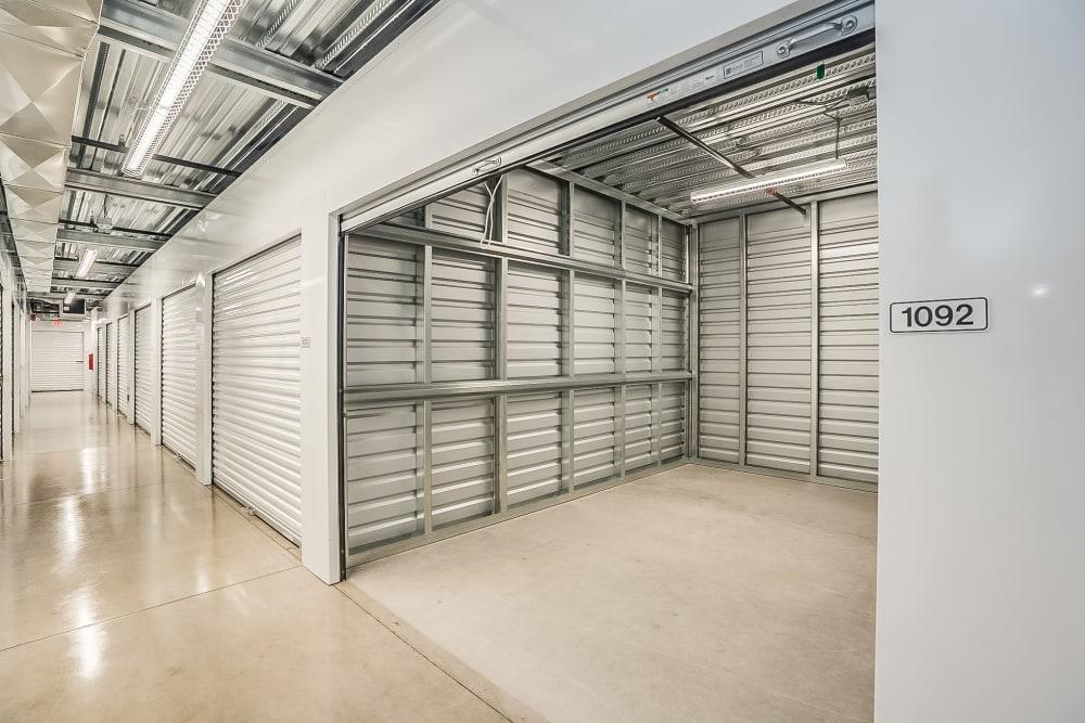 Interior unit at Red Mountain Self Storage & RV in Mesa, Arizona.