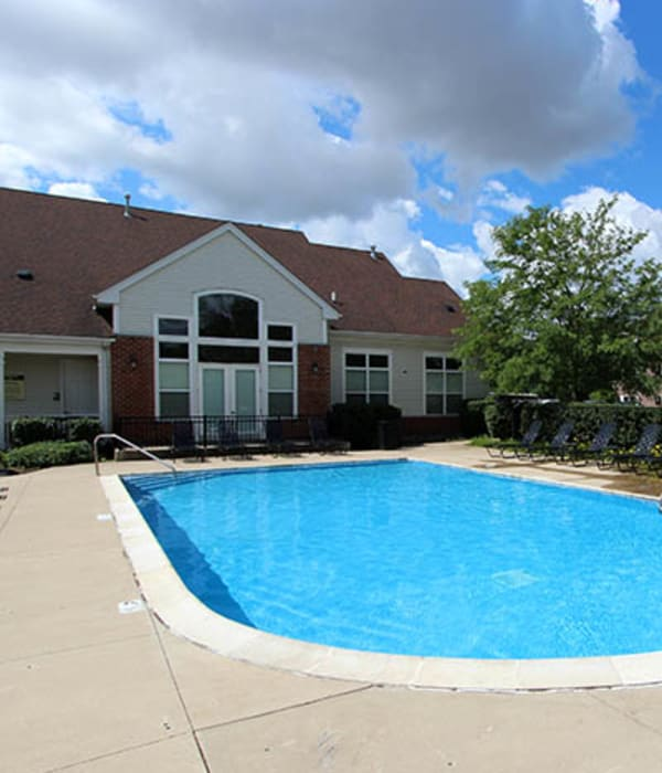 Sparkling Pool  at Riverstone Apartments in Bolingbrook, Illinois