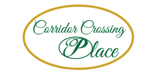 Corridor Crossing Place Logo