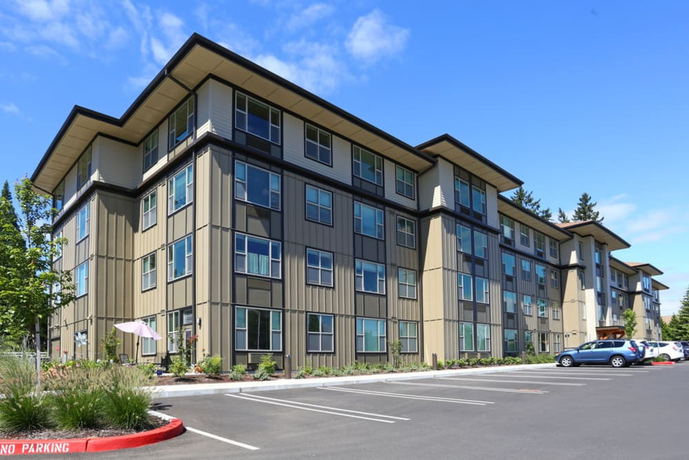 Exterior photo of The Lofts at Glenwood Place in Vancouver, Washington