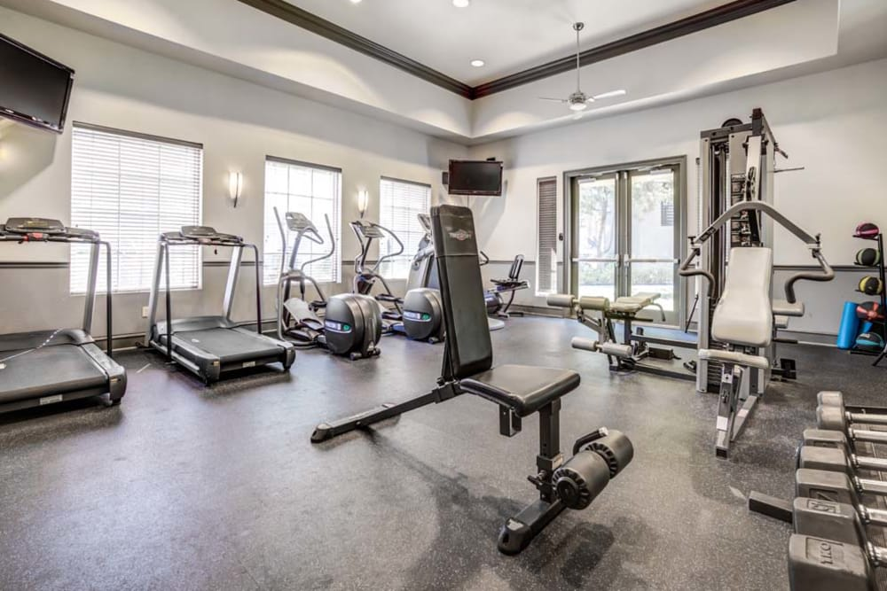 Fitness Center at The Tides Apartments in Richmond, CA
