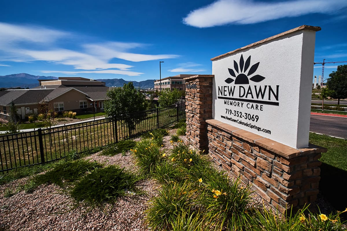 Welcome at New Dawn Memory Care in Colorado Springs, Colorado