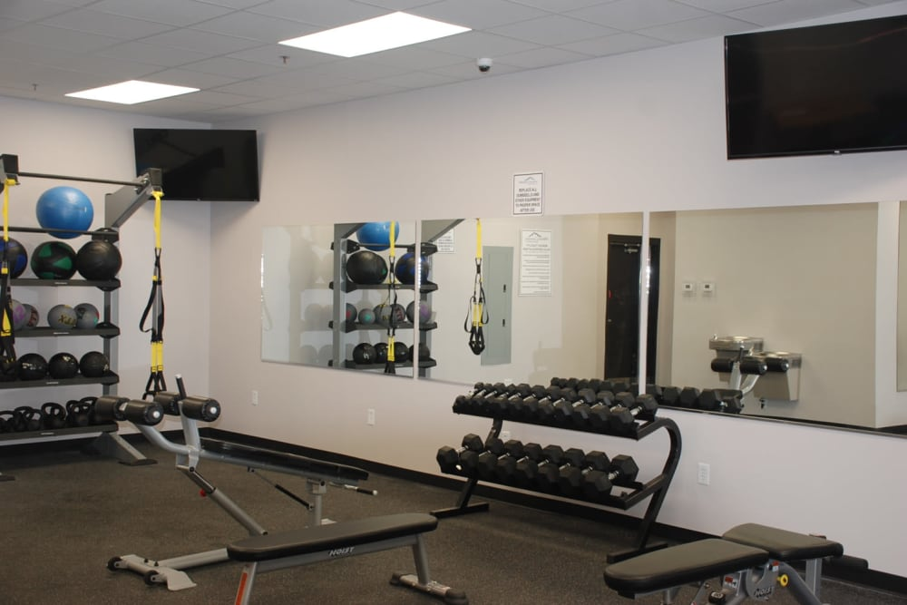 Fitness Center at Pikeville Commons Apartments in Pikeville, Kentucky