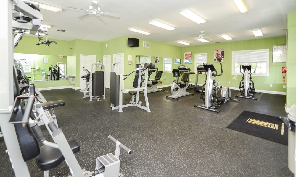 Westerlee Apartment Homes offers a fitness center in Baltimore, MD