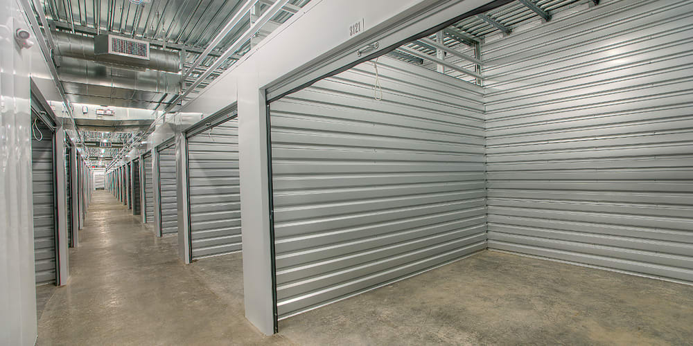 Open indoor climate controlled units at StorQuest Self Storage in Reno, Nevada