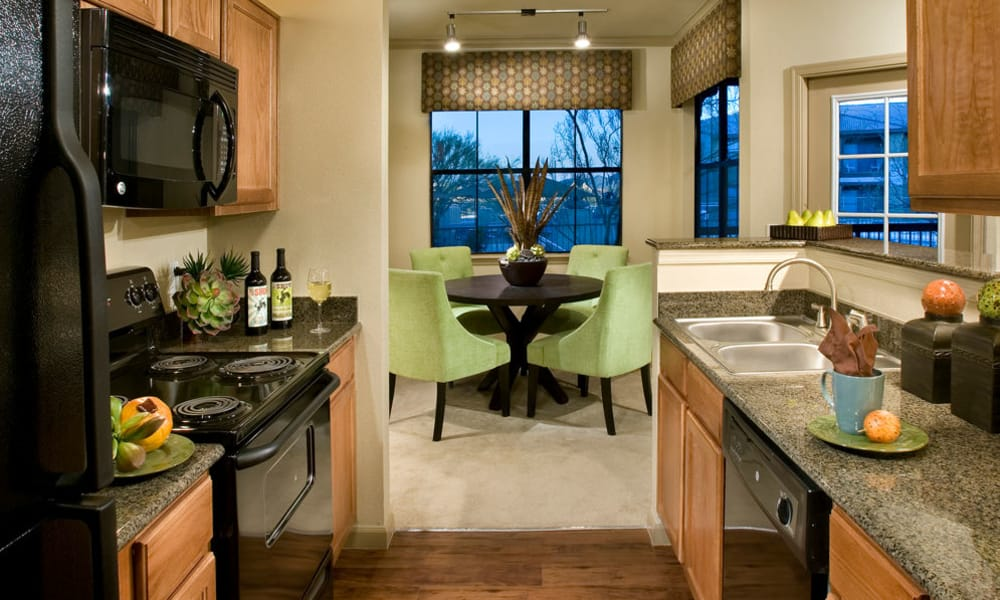 Kitchen model at Las Colinas at Black Canyon