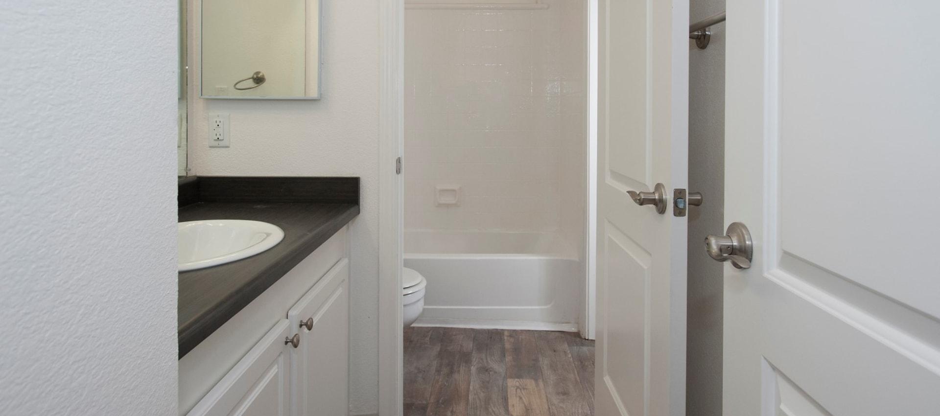 Bathroom at Ridgecrest Apartment Homes in Martinez, California