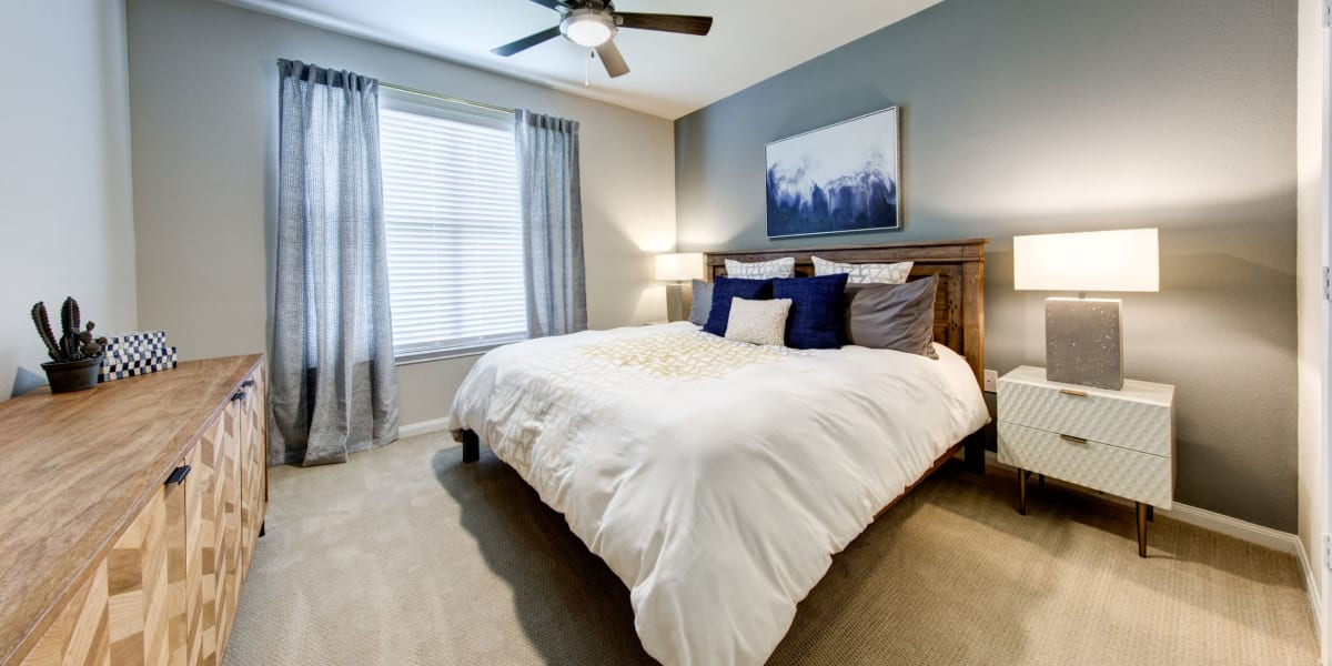 Bedroom at Marquis at The Woodlands in Spring, Texas
