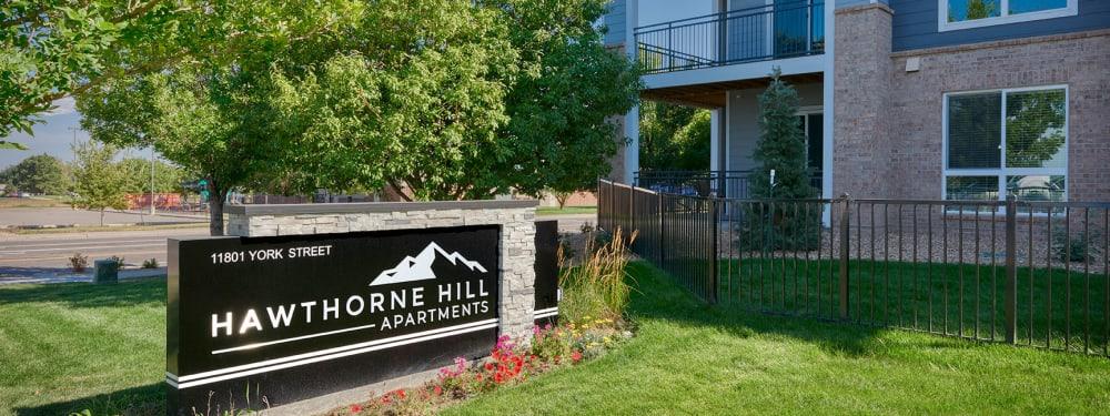 Hawthorne Hill Apartments in Thornton, Colorado