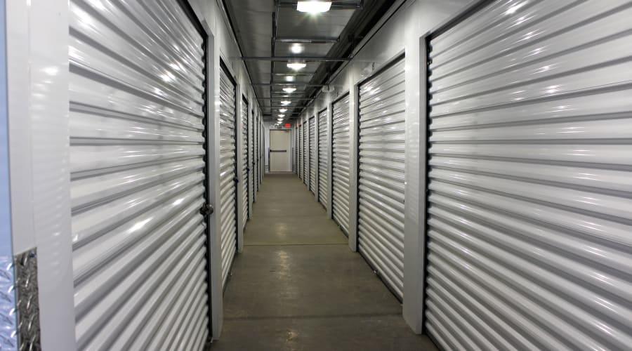 Temperature controlled units at KO Storage of Casper in Evansville, Wyoming