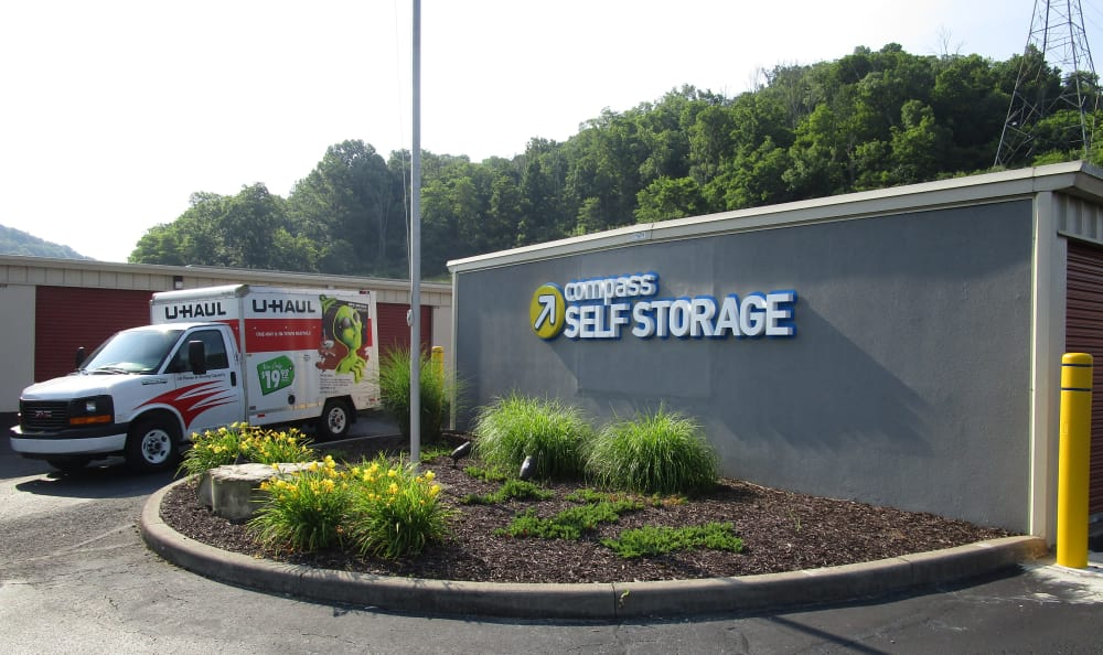 Moving truck at Compass Self Storage in Cold Spring, KY