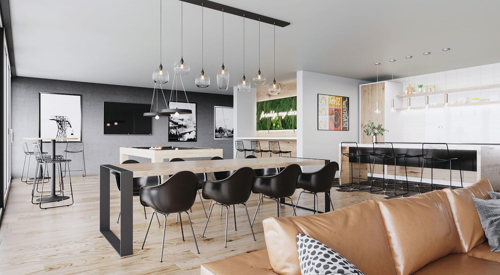 Dining room at Blackbird in Redmond, WA