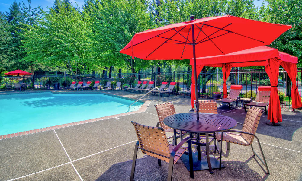 Vista at 23 Apartments offers a swimming pool in Gresham, OR
