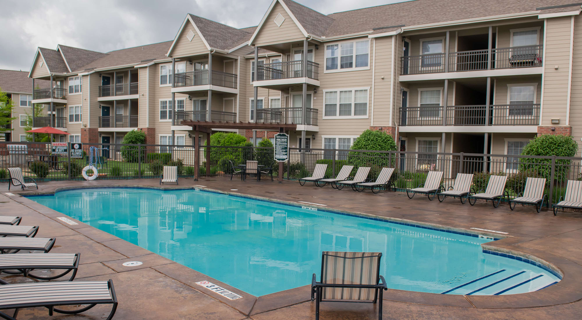 Amarillo Tx Luxury Apartments Winchester Apartments