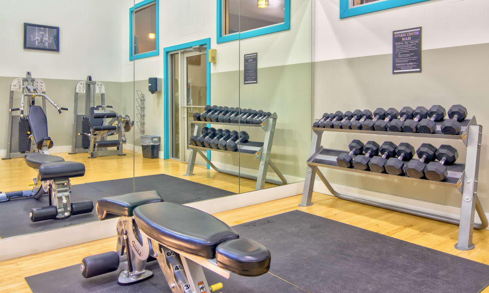 Our apartments in Gresham, OR offer a fitness center