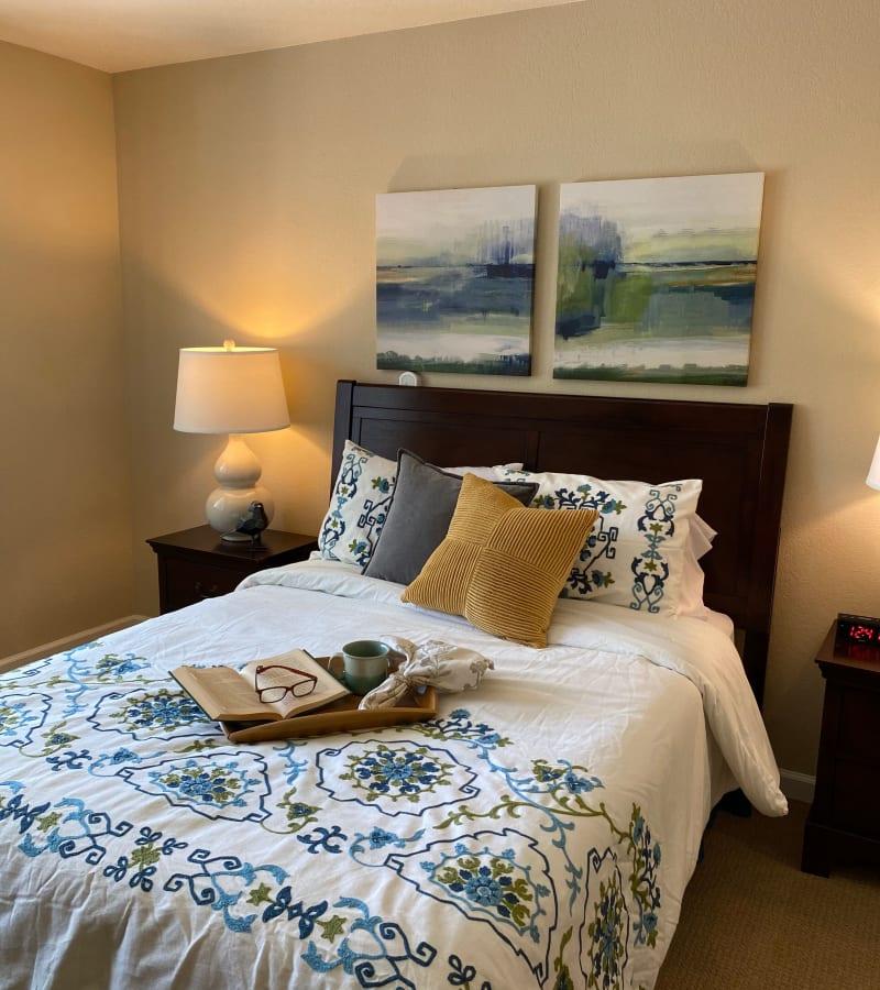 Bedroom at Pacifica Senior Living Fresno in Fresno, California