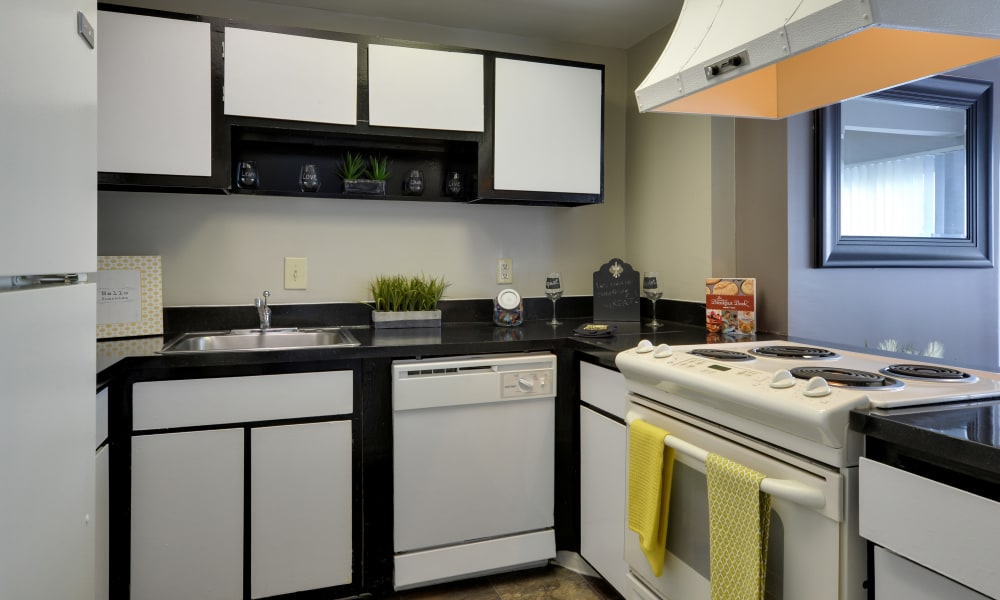 Kitchen at The Colony at Towson Apartments & Townhomes