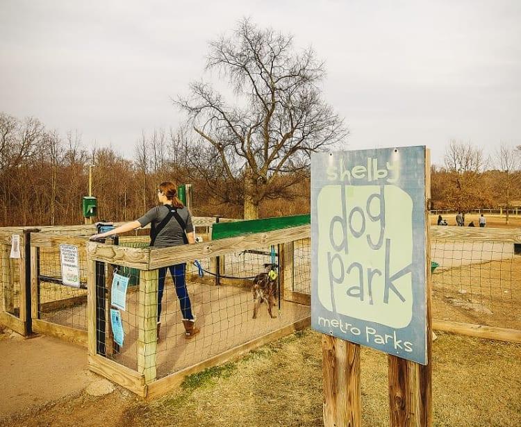 Dog park in Nashville, TN near Heritage East