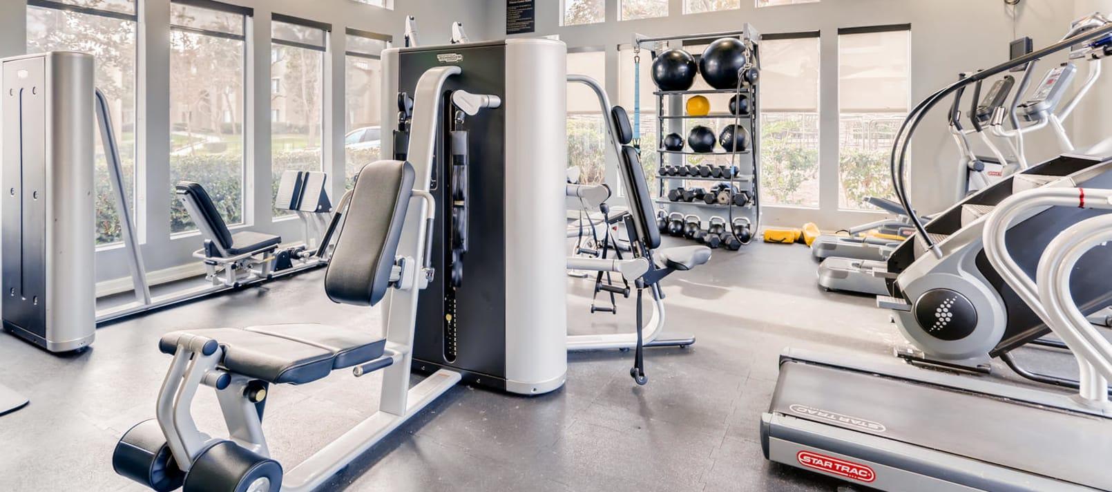 24 Hour Fitness Center in Alize at Aliso Viejo Apartment Homes in Aliso Viejo, California