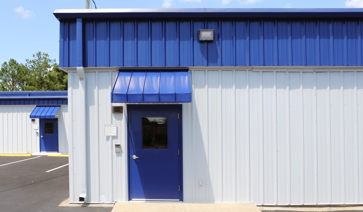 security access at Midgard Self Storage in Columbia, SC