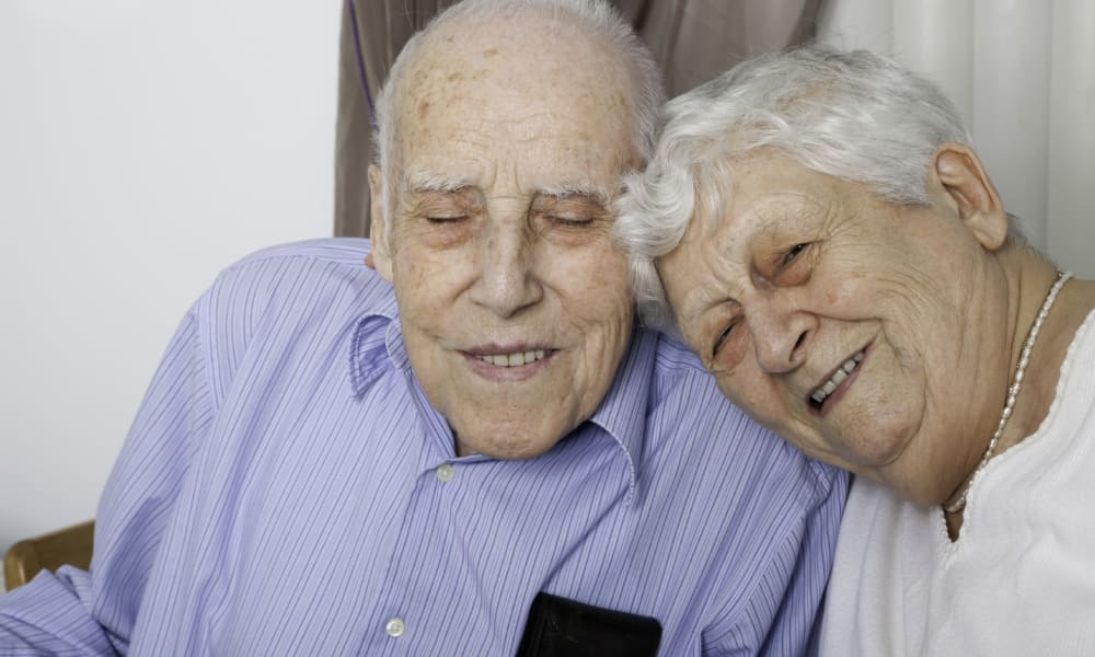 Senior couple at The Phoenix at Estero in Estero, Florida