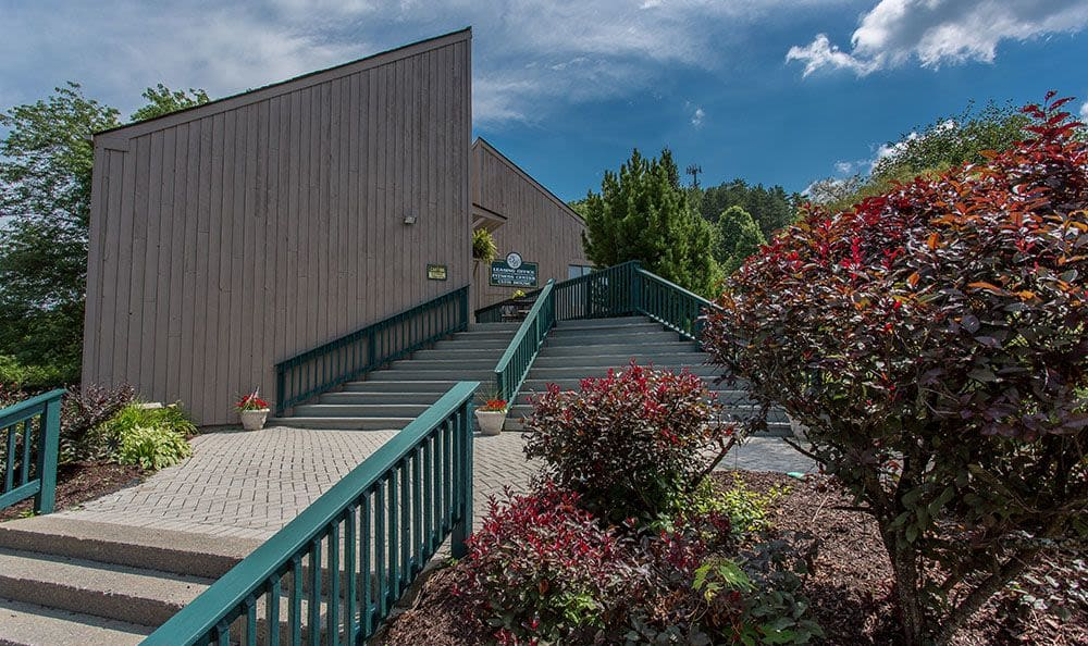 Gorgeous community amenities at Steeplechase Apartments