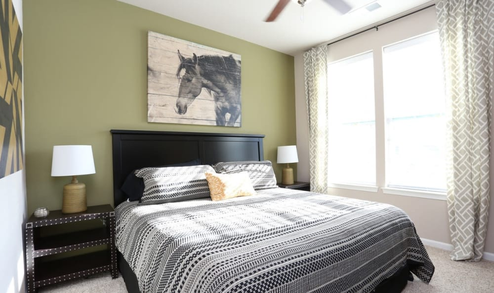spacious bedroom at Springs at Hurstbourne in Louisville, KY