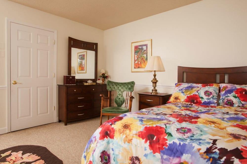 Studio senior apartment at White Oaks in Lawton, Michigan