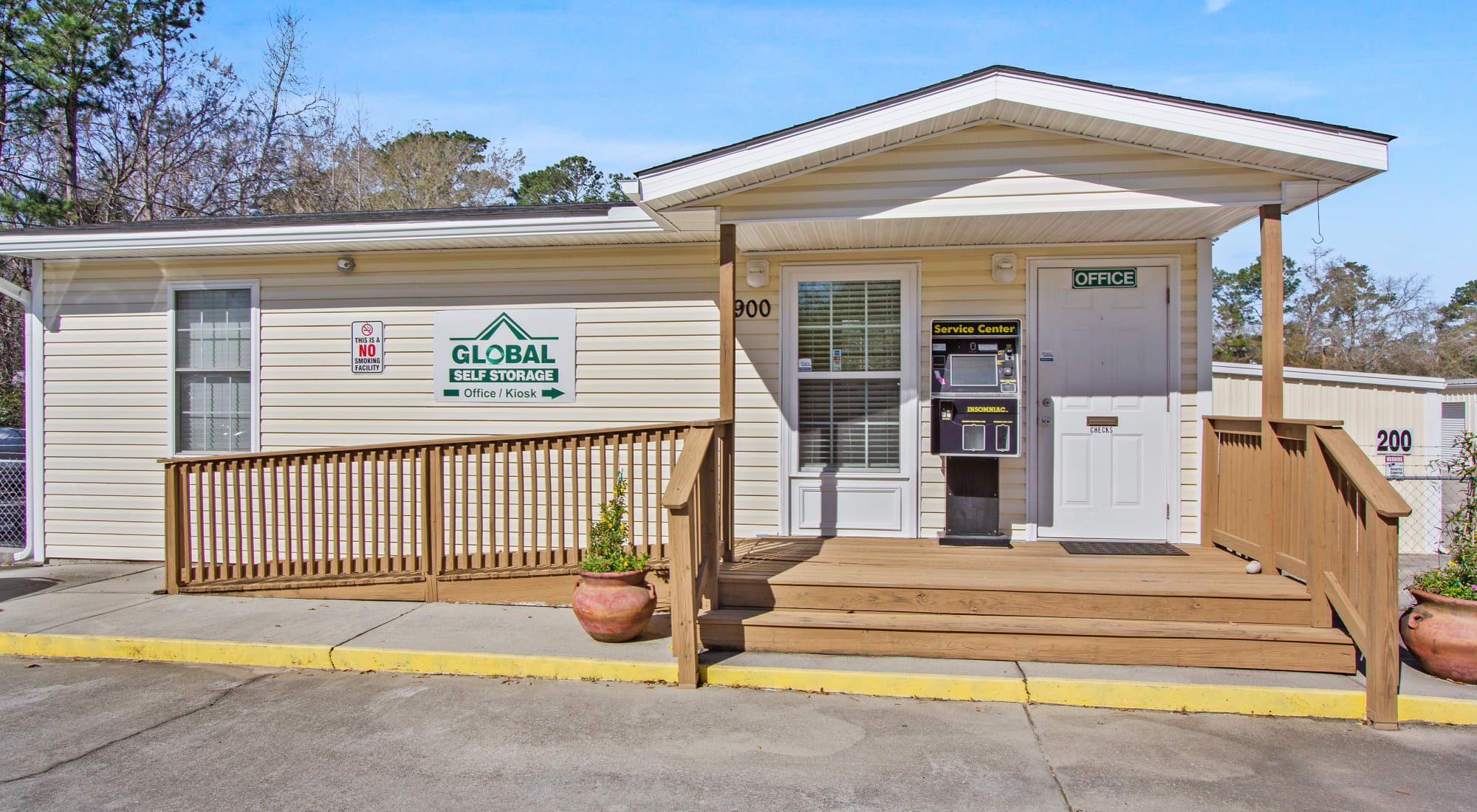Global Self Storage self storage in Summerville, South Carolina
