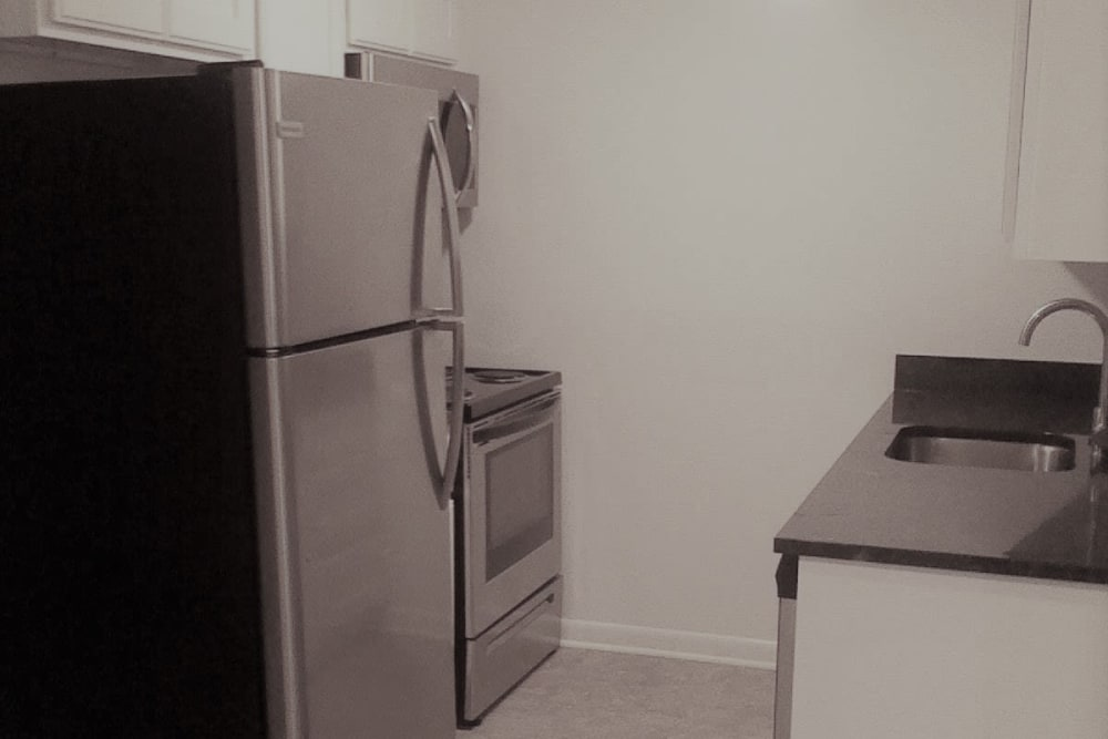 Our apartments in Ellington, Connecticut have a state-of-the-art kitchen
