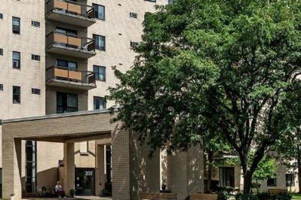 Exterior of Maiden Bridge & Canongate Apartments in Pittsburgh, Pennsylvania