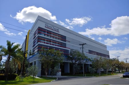 View of facility at StorQuest Self Storage in Miami, FL