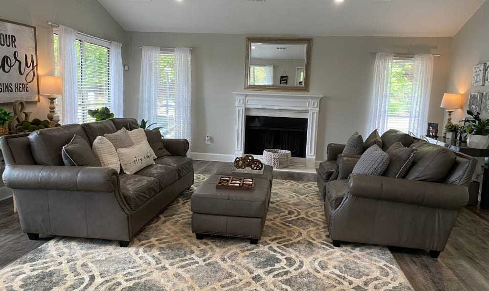 Living Room at 300 Riverside in Austell, Georgia