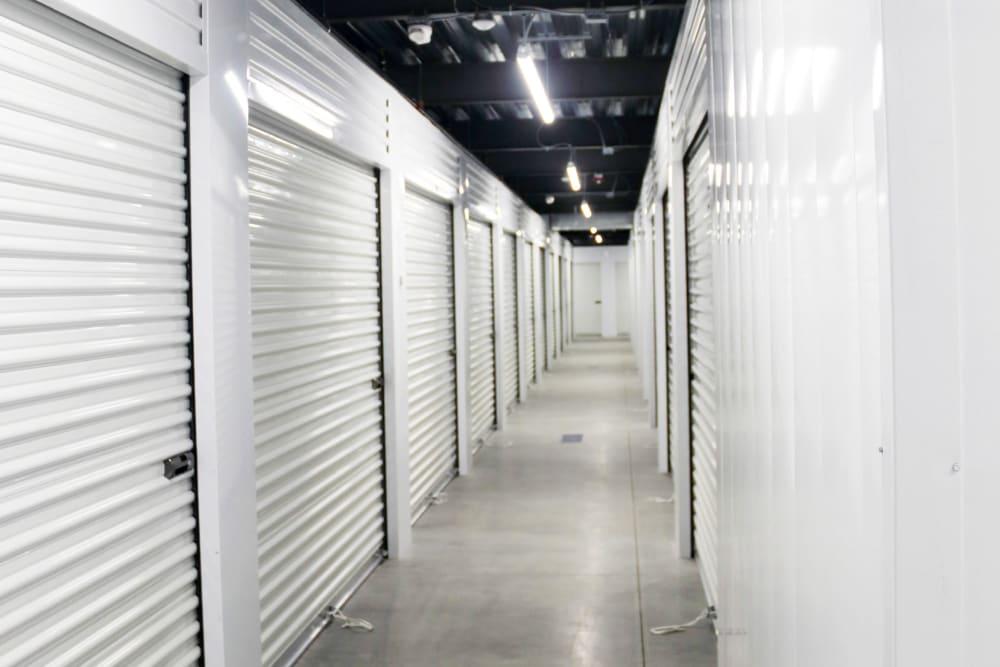 Interior storage units at 603 Storage - Hudson in Hudson, New Hampshire