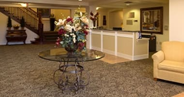 Concierge services - space planning at Burr Ridge Senior Living