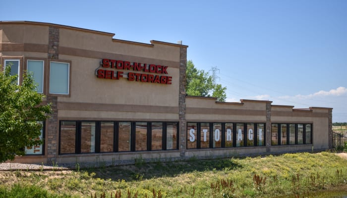 The exterior of STOR-N-LOCK Self Storage in Henderson, Colorado