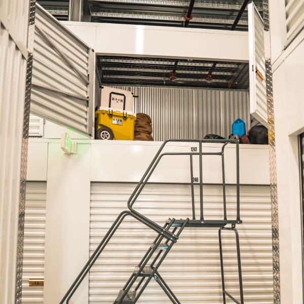 Locker storage units of varying sizes at StorQuest Self Storage in Honolulu, Hawaii