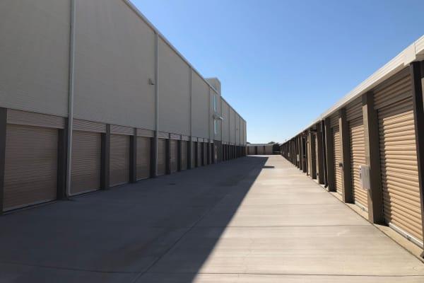 Cypress Self Storage's outdoor storage units in Oakley, California