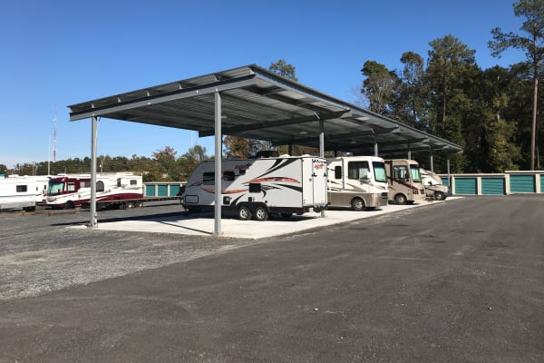 Available RV storage at Centerville Self Storage in Centerville, Georgia