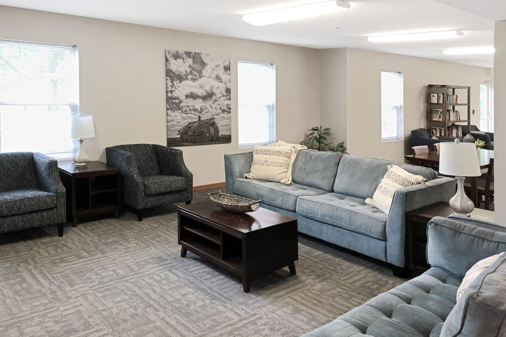Clubhouse at Regency Heights in Iowa City, Iowa