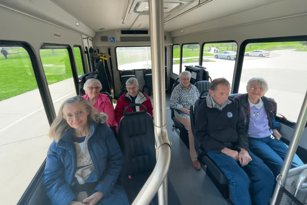 residents going on a day trip